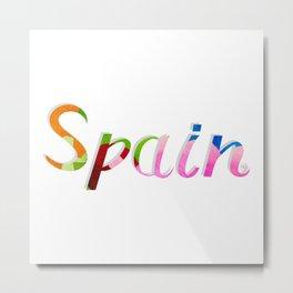 Spain 02 Metal Print