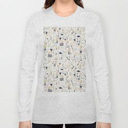 Watercolour Sheep Long Sleeve T-shirt
