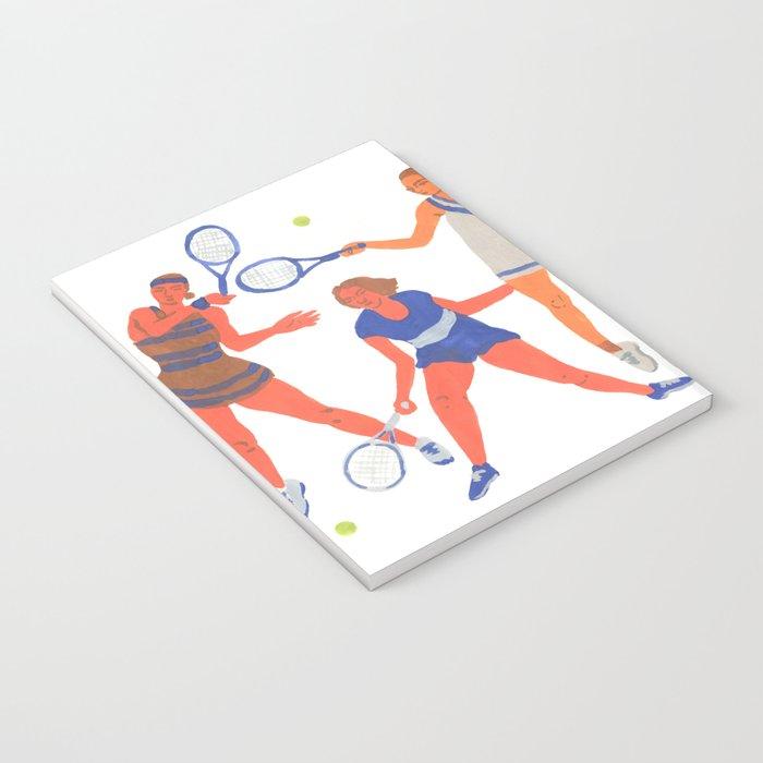Tennis Girls Notebook