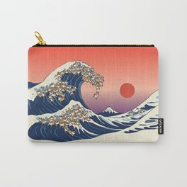 The Great Wave of Shiba Inu Carry-All Pouch