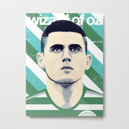 Tom Rogic, The Wily Wizard Metal Print