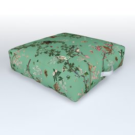 Monkey World Green Outdoor Floor Cushion
