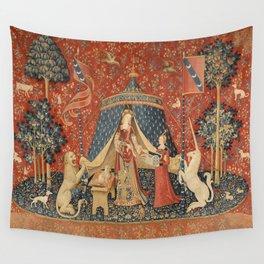 The Lady And The Unicorn Wandbehang