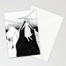 Mountain high Stationery Cards
