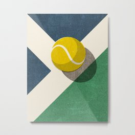 BALLS / Tennis (Hard Court) Metal Print