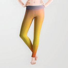 Ocean Sunset Colors Minimalist Leggings