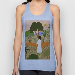 The Unknown Path Unisex Tank Top