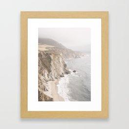 Big Sur California Gerahmter Kunstdruck