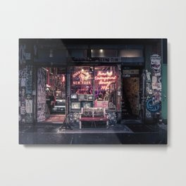 Underground Boxing Club NYC Metal Print