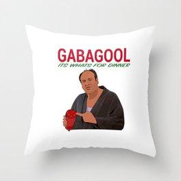 Gabagool Throw Pillow