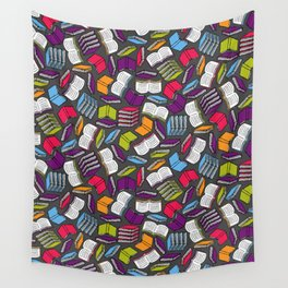 So Many Colorful Books... Wall Tapestry