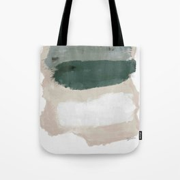 Paint Stripes Tote Bag
