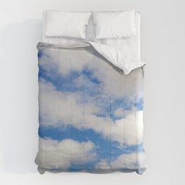 Deep Sea, Magical Fairy Tale Blue Sky Comforters