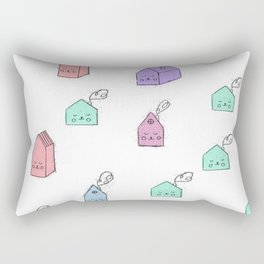 Cartoon Tea Bags Rectangular Pillow