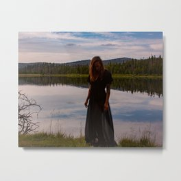 Lakeside Rising Metal Print