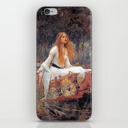 THE LADY OF SHALLOT - WATERHOUSE iPhone Skin