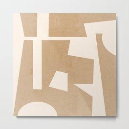 Minimal Abstract Art 30 Metal Print