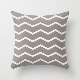 SIMPLE CHEVRONS 04 Throw Pillow