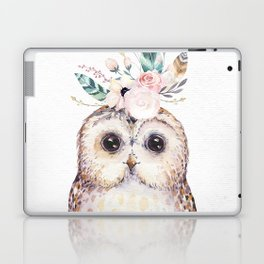 Forest Owl by Nature Magick Laptop & iPad Skin