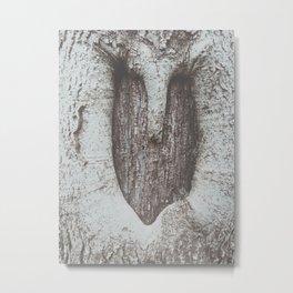 tree heart Metal Print