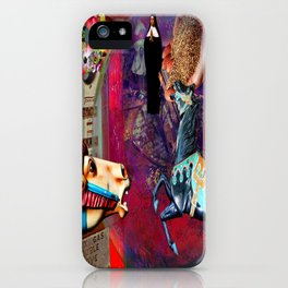 Fossil Fuel Cemetery iPhone Case