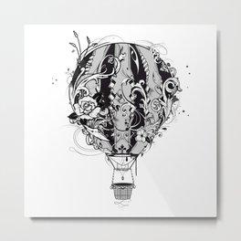 An ornate hot air balloon Metal Print