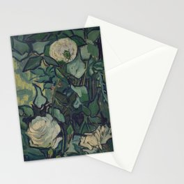 Vincent Van Gogh - Roses and Beetle Stationery Cards