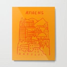 Athens, Greece Metal Print
