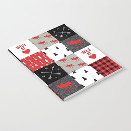 Wild At Heart Lumberjack Quilt Pattern Notebook