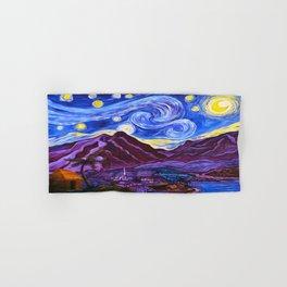 Maui Starry Night Hand & Bath Towel