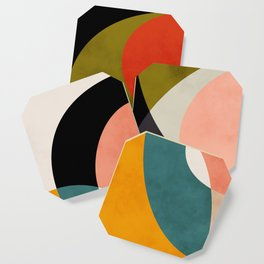 geometry shapes 3 Coaster