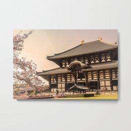 Nara Metal Print
