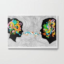Complex Conversations Metal Print