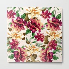 Vintage flowers1 Metal Print