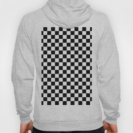 Checker (Black & White Pattern) Hoody