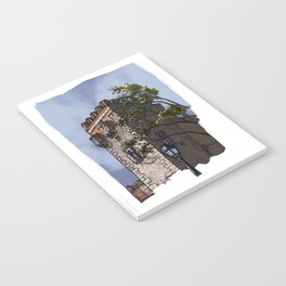 Tower of the palace (color) Notebook