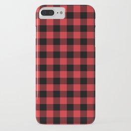 Buffalo Plaid Rustic Lumberjack Buffalo Check Pattern iPhone Case