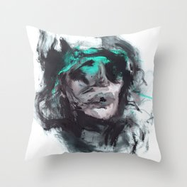 Stokes Croft Throw Pillow