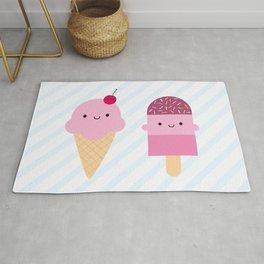 Summer Ice Cream Treats Rug