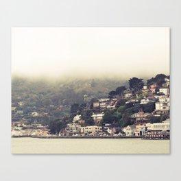 Sausalito Fog Canvas Print