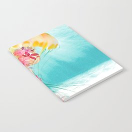 Jellyfish with Flowers Notebook