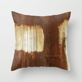 Rust 06 Throw Pillow