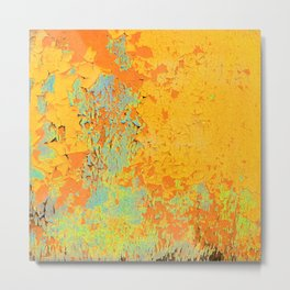 Flaky paint Metal Print