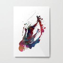 Skateboard #skate #skateboard #sport Metal Print