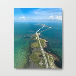 Road to Bahia Metal Print