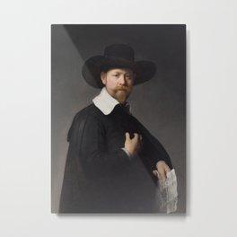 Portrait of Marten Looten Metal Print