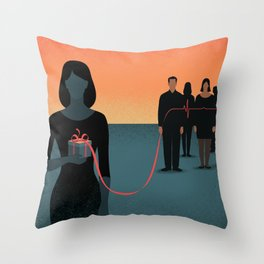 The Gift of Life Throw Pillow