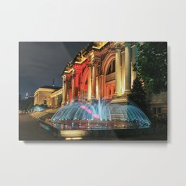 The Met Landscape Metal Print
