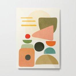 Modern Abstract Art 71 Metal Print