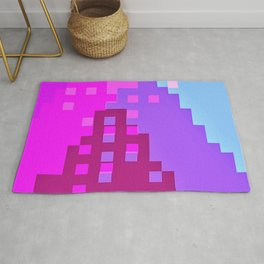 colorful city Rug
